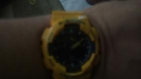 G Shock Amarelo Semi Novo