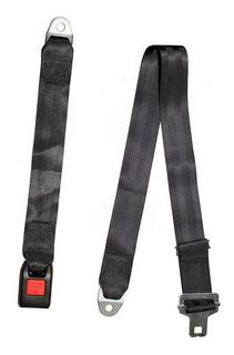 Cinturón De Seguridad Negro Universal 2 Puntas