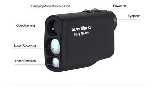 Laser Golf Telemetro Rangefinder Laserworks 600spi