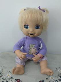 Boneca Baby Alive Linda Surpresa Funcionando Perfeitamente