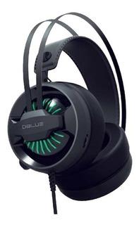 Audifonos Gamer M46 Iluminados Led - Usb Y Plug Cable 2.2mt