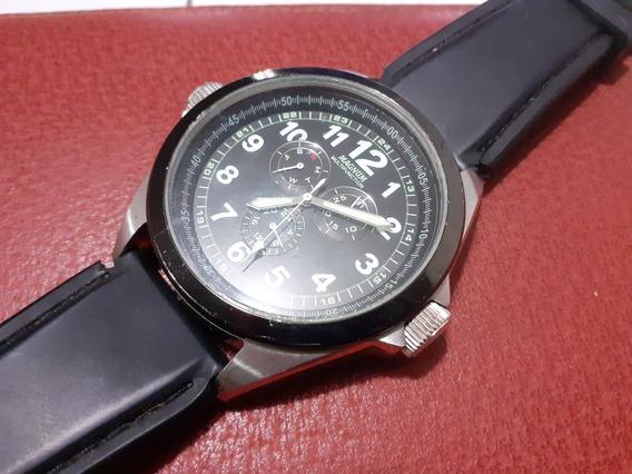 Relógio Magnum Multifunction Calendário Para Uso Ou Coleção