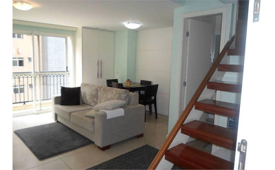 Apartamento Duplex Com 2 Dormitórios À Venda, 77 M² Por R$ 580.000 - Tatuapé - São Paulo/sp - Ad0048