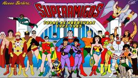 Super Amigos (desenho Americano Antigo) Ano:1973 Até 1988