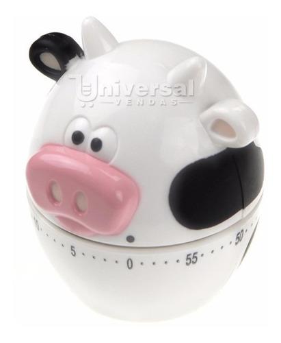Timer Temporizador Alarme Cozinha 60 Minutos Vaca