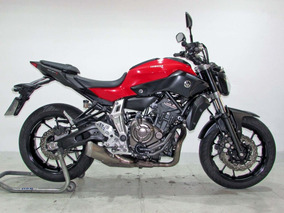 Yamaha - Mt 07 - 2016 Vermelho