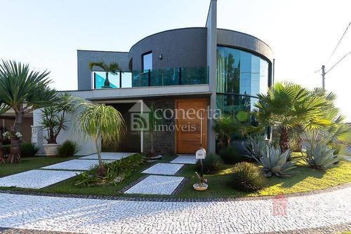 Casa Com 3 Dormitórios À Venda, 341 M² Por R$ 2.500.000,00 - Condomínio Athenas - Paulínia/sp - Ca1095