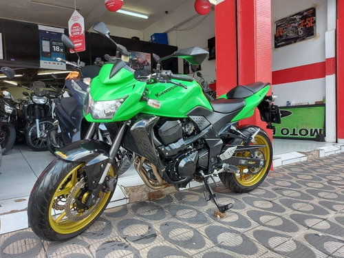 Kawasaki Z750 2011 Verde