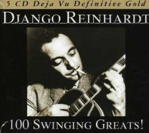 Cd : Django Reinhardt - 100 Swinging Greats (germany - I...