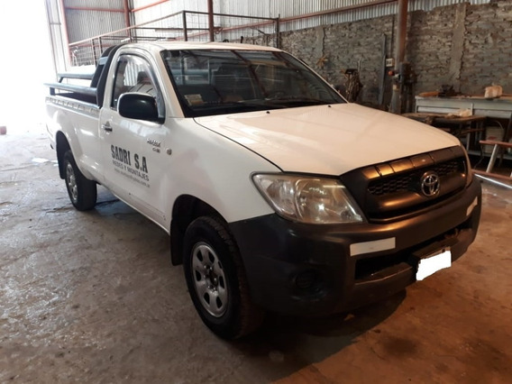 Toyota Hilux Cabina Simple 2.5 Dx 4x2 Modelo 2011