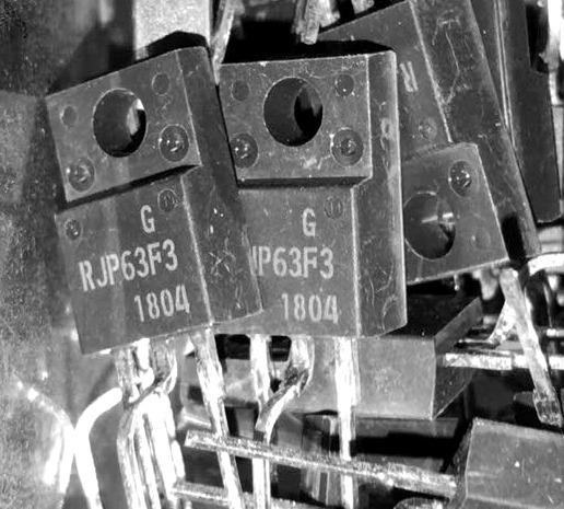 5 Peças Igbt Transistor Rjp63f3 - Rjp 63f3 Original Renesas
