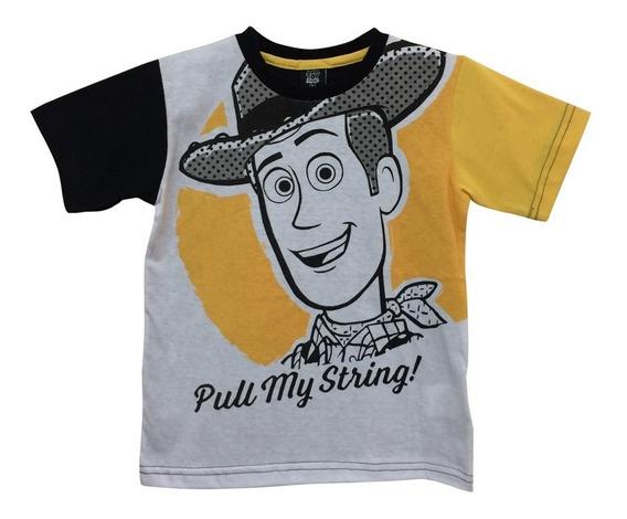 Toy Story 4 Playera De Woody Para Niño Oficial