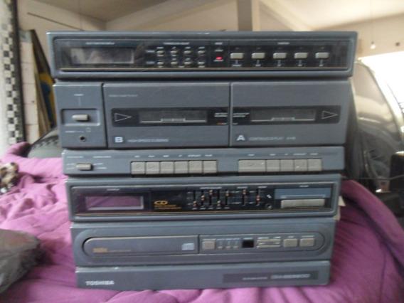 Micro-system Toshiba Modelo: Cm3239cd Funcionando Bivolte