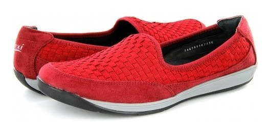 Tenis Flexi 28306 Rojo 22.0 - 27.0 Damas
