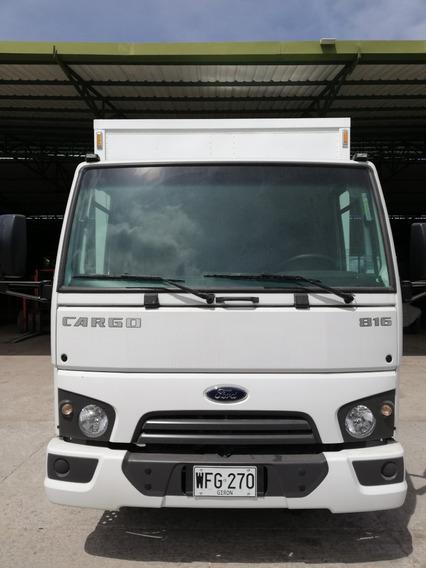 Venta De Furgon Ford Cargo 816 Modelo 2017
