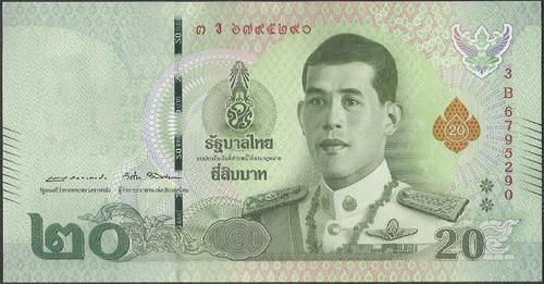 Tailandia 20 Bath Nd2018 P135