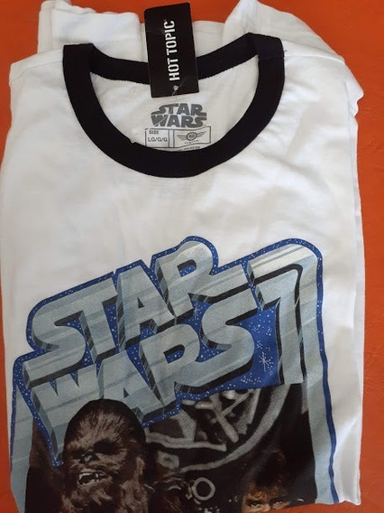 Remera Star Wars Original Importada Talle Large Y Medium