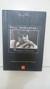 Livro Pt-br Many Years From Now Autobiografia Paul Mccartney
