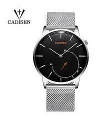 Relógio Cadisen Quartz Relógio Topo Luxo