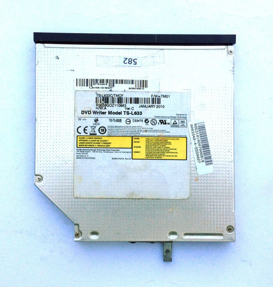 Gravador Cd/dvd Ts-l633 Ver. C Notebook Intelbras Cm-2 #582