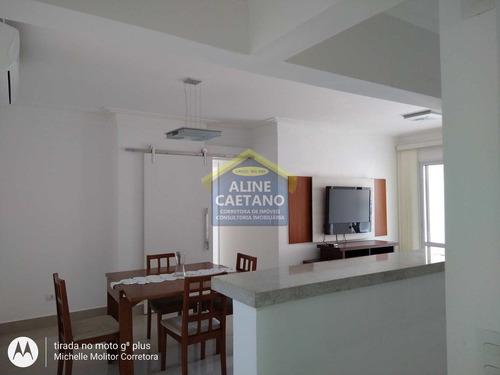 Imagem 1 de 30 de Apartamento Com 3 Dorms, Canto Do Forte, Praia Grande - R$ 850 Mil, Cod: Act1392 - Vact1392