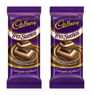 Tableta Cadbury Tres Sueños 160grs - Barata La Golosineria