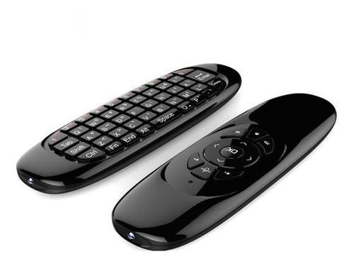 Teclado Fly Mouse Inalambrico Para Smart Tv Box Pc Mrclick