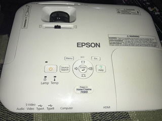 Proyector Epson Powerlite Cinema 710 Hd
