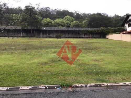 Terreno À Venda, 360 M² Por R$ 650.000,00 - Alphaville 09 - Santana De Parnaíba/sp - Te0231