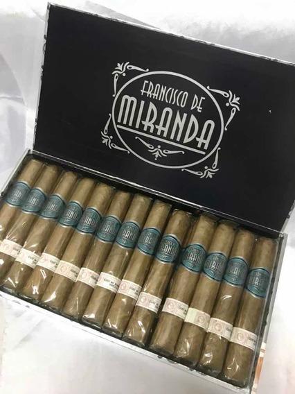 Cigarros Francisco De Miranda Robusto X 25 Puros Dominicanos