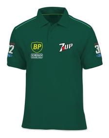 Camisa Polo Fórmula Retrô - Jordan 1991 - Schumacher