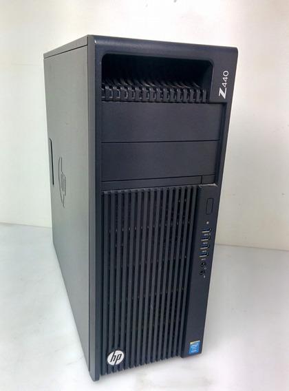 Workstation Hp Z440 Xeon 16gb Ddr4 Ssd480gb Gpu Quadro K620