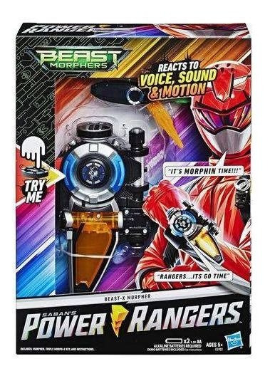 Power Rangers Beast Morphers - Morfador C/ 30 Sons E Luz