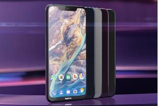 Smartphone Nokia X7