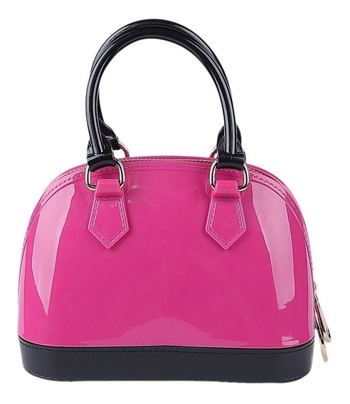 Mini Bolsa Transversal Feminina Com Glitter Alça Removivel Santino Fashion