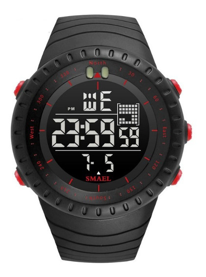 Relógio Smael Digital Militar À Prova D