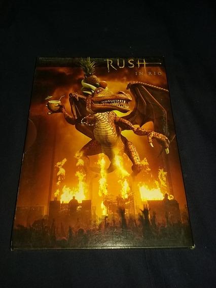 Rush In Rio Dvd Doble -