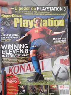Revista Playstation Winning Eleven 8 Original