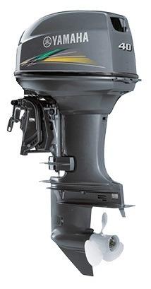 Motor Yamaha 40hp 0km Partida Eletrica  Comando 12 X Cartao