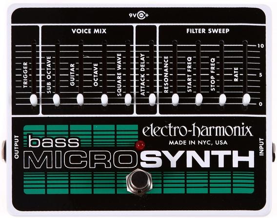Pedal Bass Micro Synthesizer Electro Harmonix Analog Microsy