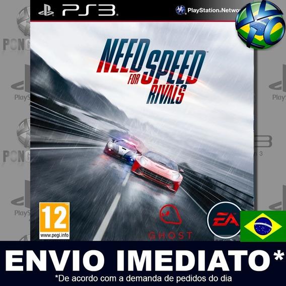 Need For Speed Rivals Ps3 Psn Dublado Português Br Promoção