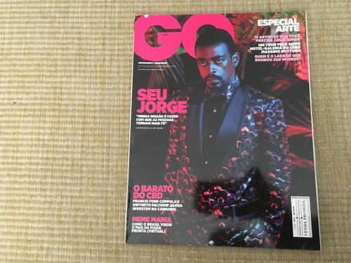 Revista Go Brasil 94 Seu Jorge Músicas Especial Arte O982