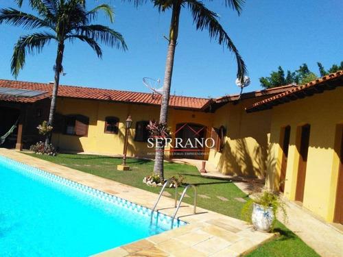 Casa À Venda, 406 M² Por R$ 1.300.000,00 - Condomínio Estância Marambaia - Vinhedo/sp - Ca0659