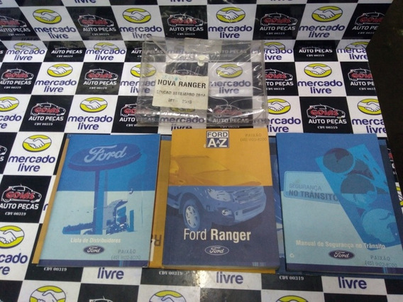 Manual Instrumento Ford Ranger 2015 3.2 Completa
