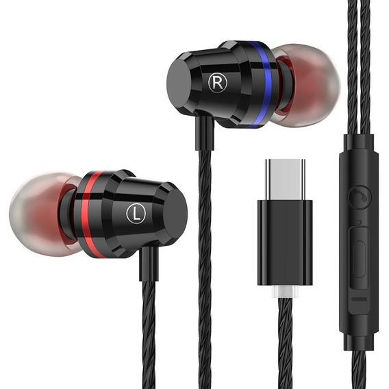 Ptm M4 Fones De Ouvido Com Fio Fones De Ouvido Tipo-c
