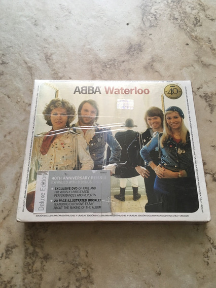 Abba Waterloo Deluxe Edition Cd+dvd