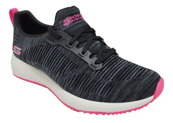 Zapatillas Skechers Mujer Bobs Squad - 31370