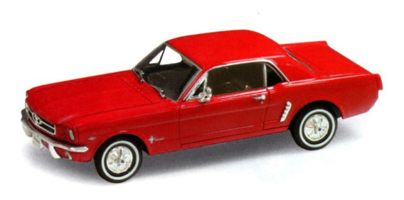 Ford Mustang Coupé 1964 (1:24) Original Welly