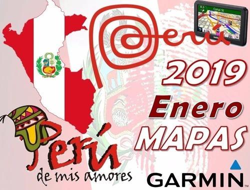 Mapa Gps Garmin Peru Ultimo 2019 Alerta Guía Instal