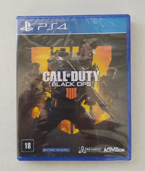 Call Of Duty Black Ops 4 Bo4 Midia Fisica Ps4 Novo Lacrado